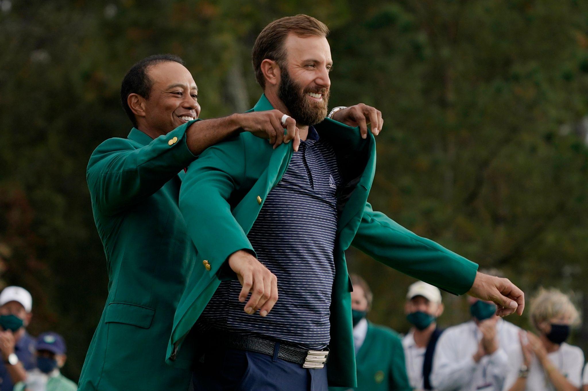 Masters-Champion Johnson wird im grünen Jackett emotional
