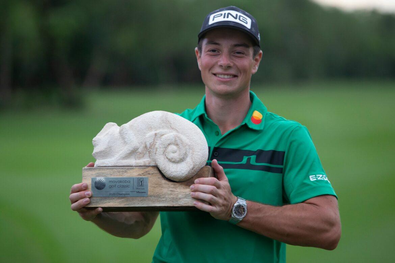 Hovland gewinnt letztes Golf-Turnier des Jahres auf PGA-Tour