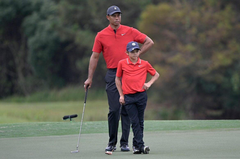 Charlie Woods stellt Papa Tiger in den Schatten