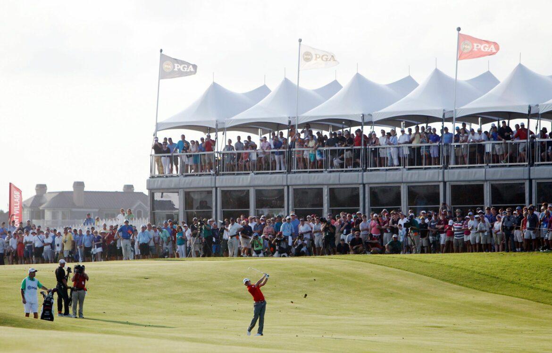 PGA Championship vor rund 10.000 Zuschauern pro Tag