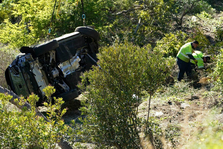 Überhöhte Geschwindigkeit führte zum Unfall von Woods