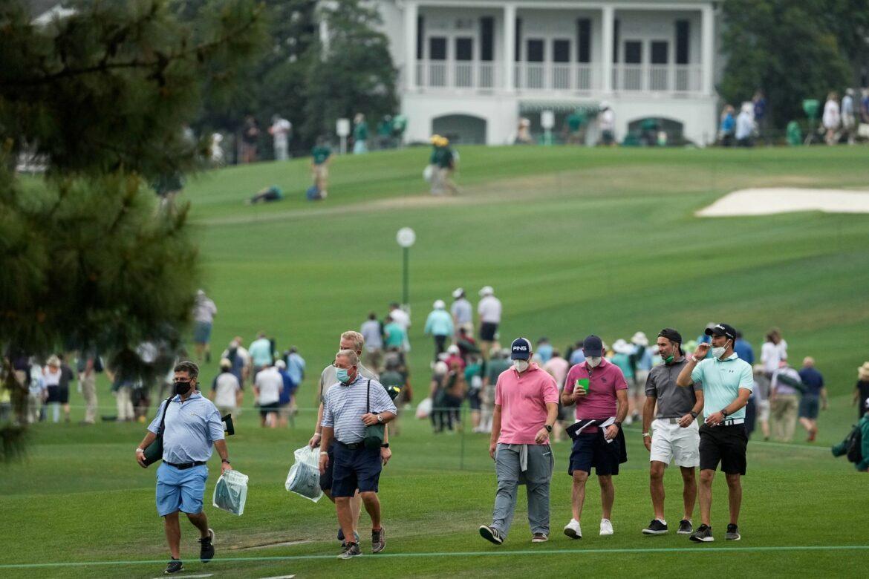 Gewittergefahr: Masters in Augusta unterbrochen