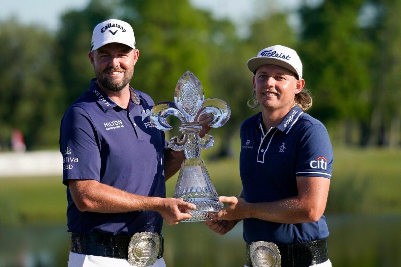 Australisches Golf-Duo gewinnt PGA-Turnier nahe New Orleans