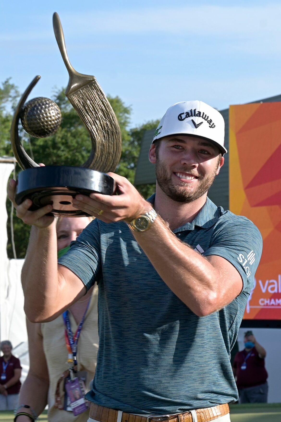 Golfer Sam Burns holt ersten Sieg auf der PGA-Tour