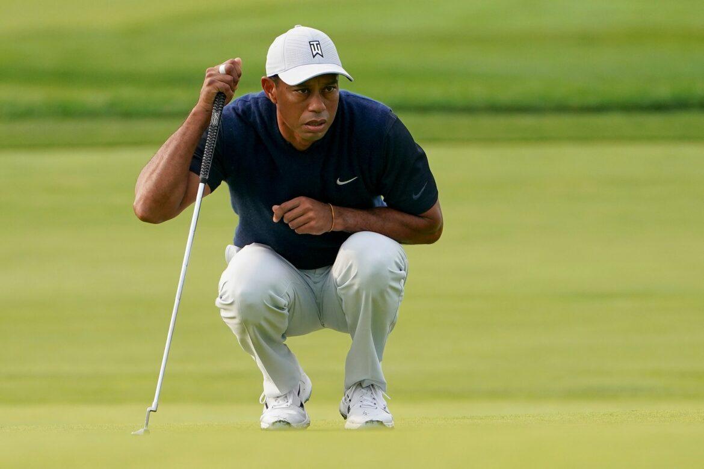 Golf-Superstar Woods: Erstes Ziel «eigenständig laufen»