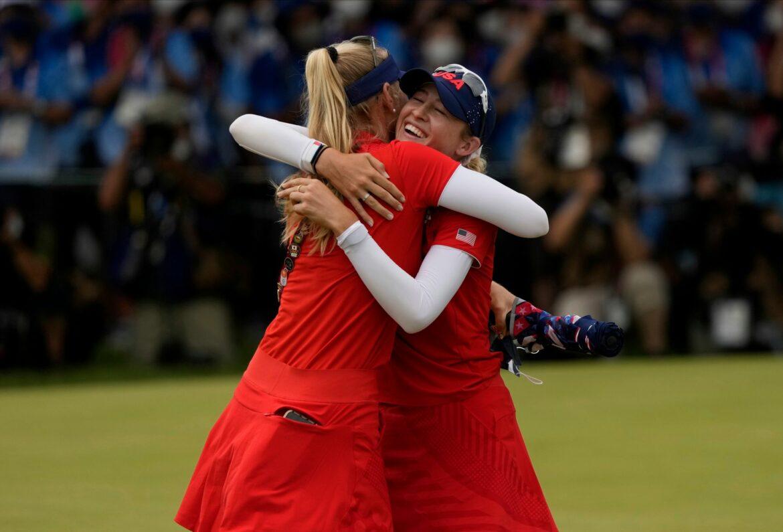 US-Golfstar Nelly Korda holt Olympia-Gold